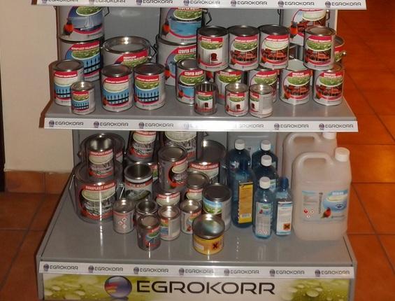Egrokorr festékek