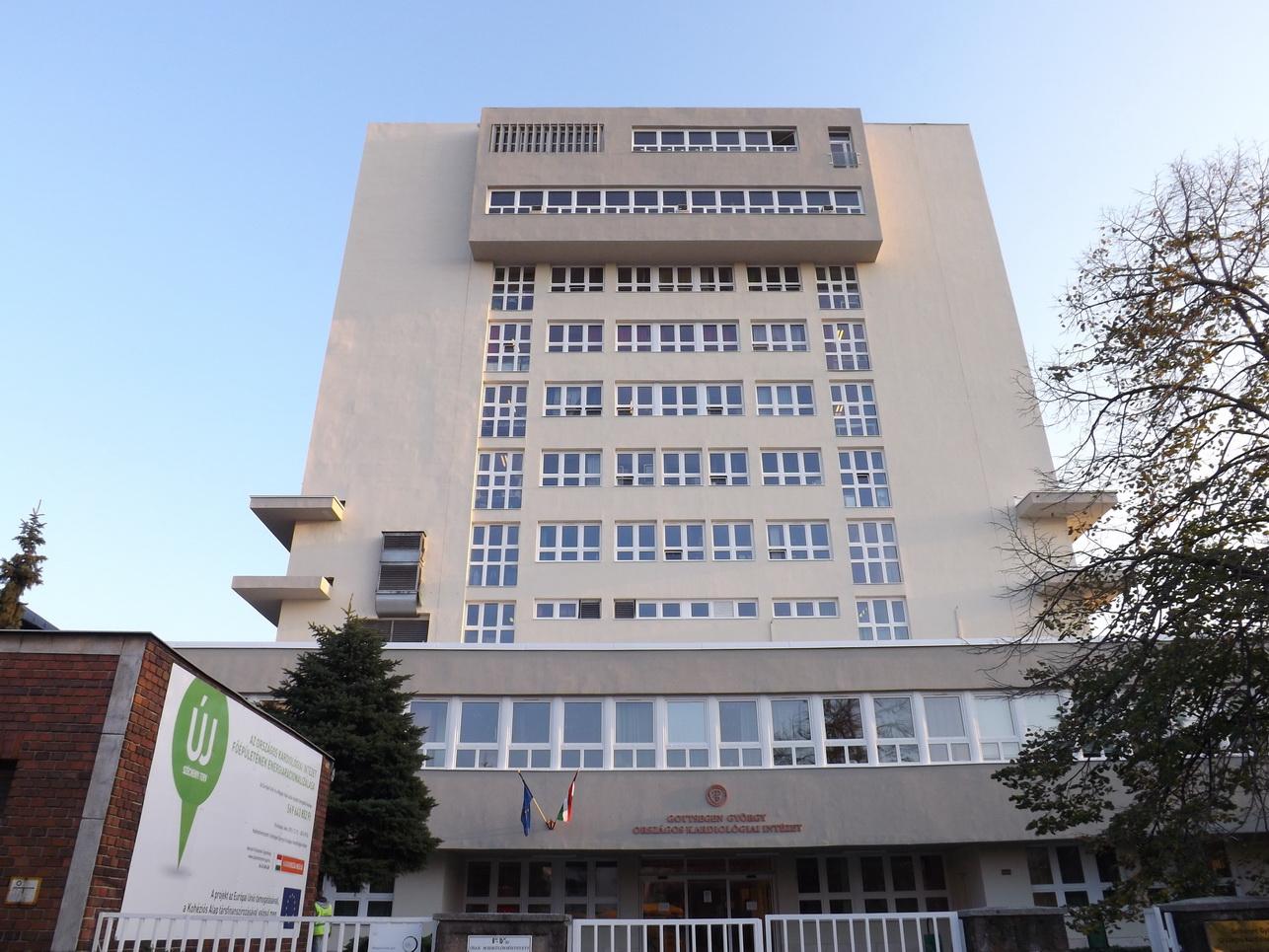 Megújult az Országos Kardiológiai Intézet főépülete