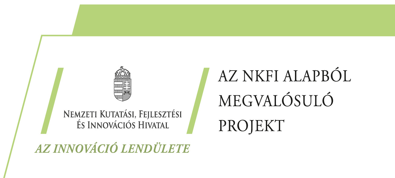 NKFI Alapból megvalósuló projekt
